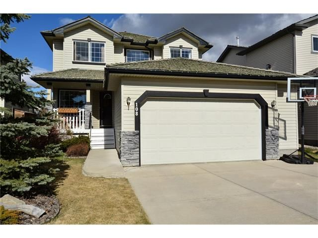 Main Photo: 108 GLENEAGLES Terrace: Cochrane House for sale : MLS®# C4113548