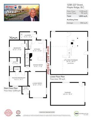 Photo 18: 12381 227 Street in Maple Ridge: North Maple Ridge House for sale : MLS®# R2569612