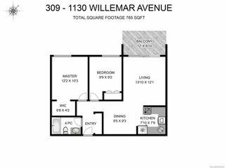 Photo 9: 309 1130 Willemar Ave in COURTENAY: CV Courtenay City Condo for sale (Comox Valley)  : MLS®# 819923