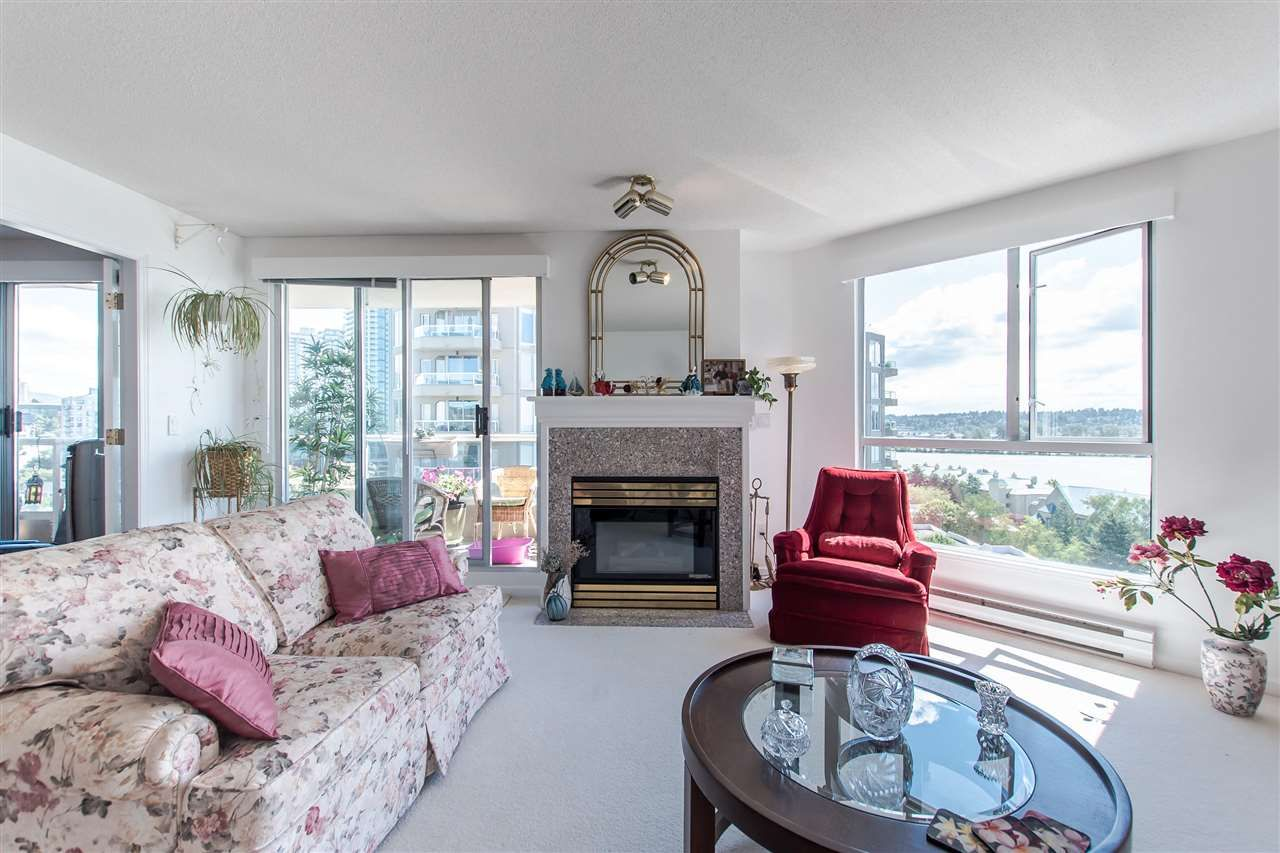 """Main Photo: 1407 1185 QUAYSIDE Drive in New Westminster: Quay Condo for sale in """"RIVERIA TOWERS"""" : MLS®# R2382149"""