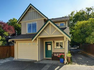 Photo 1: 1 2650 Shelbourne St in : Vi Oaklands Row/Townhouse for sale (Victoria)  : MLS®# 850293