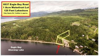 Photo 1: 6037 Eagle Bay Road in Eagle Bay: Million Dollar Alley Vacant Land for sale : MLS®# 10205016