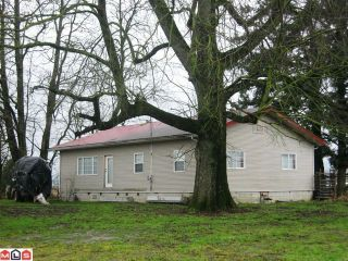 Photo 1: 35391 FORE Road in Abbotsford: Matsqui House for sale : MLS®# F1202557