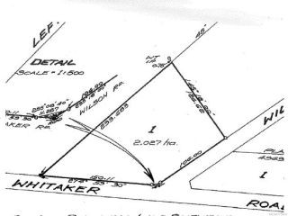 Photo 7: LT 1 Whitaker Rd in COURTENAY: CV Courtenay North Land for sale (Comox Valley)  : MLS®# 775604
