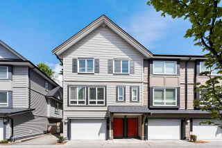 """Photo 1: 50 14555 68 Avenue in Surrey: East Newton Townhouse for sale in """"SYNC"""" : MLS®# R2578561"""