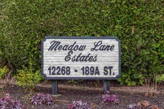 "Photo 20: 25 12268 189A Street in Pitt Meadows: Central Meadows Townhouse for sale in ""MEADOW LANE ESTATES"" : MLS®# R2355712"