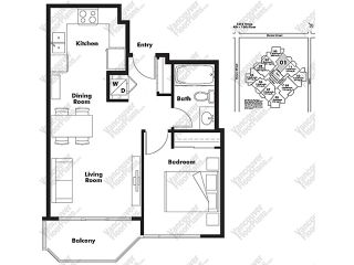 """Photo 6: 1001 1212 HOWE Street in Vancouver: Downtown VW Condo for sale in """"1212 HOWE"""" (Vancouver West)  : MLS®# V1055279"""