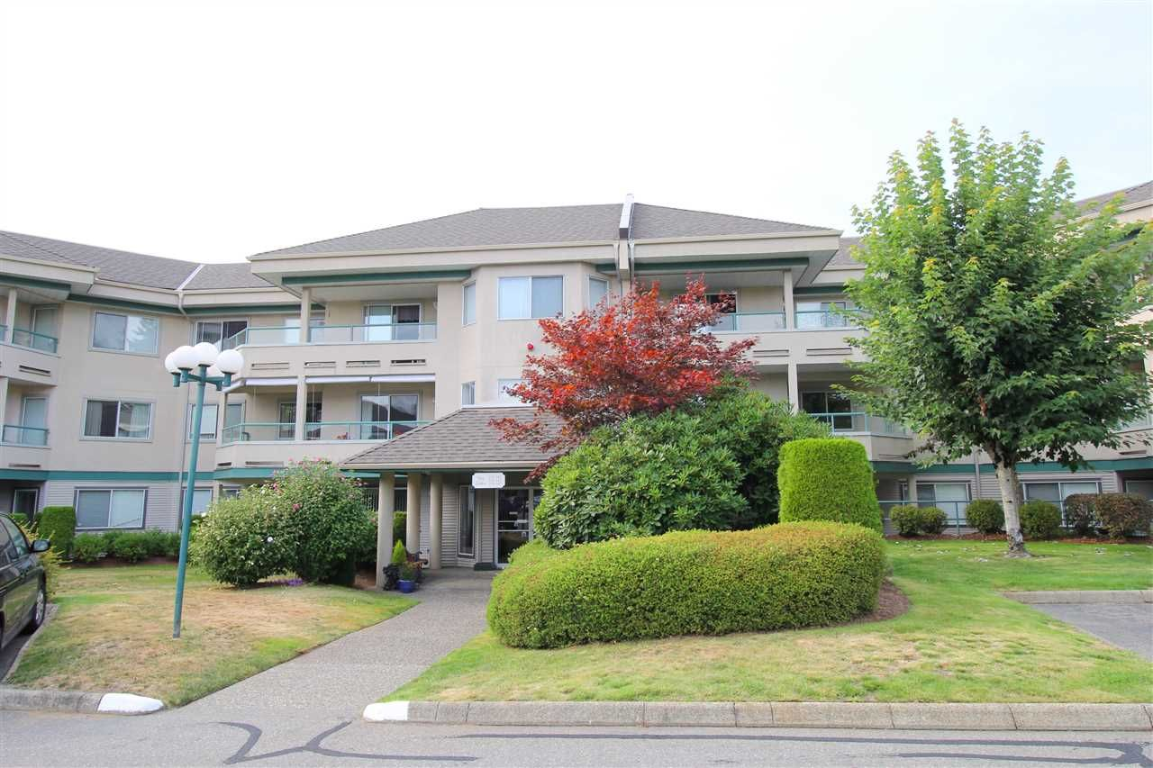 """Main Photo: 235 2451 GLADWIN Road in Abbotsford: Abbotsford West Condo for sale in """"Centennial Court"""" : MLS®# R2403099"""