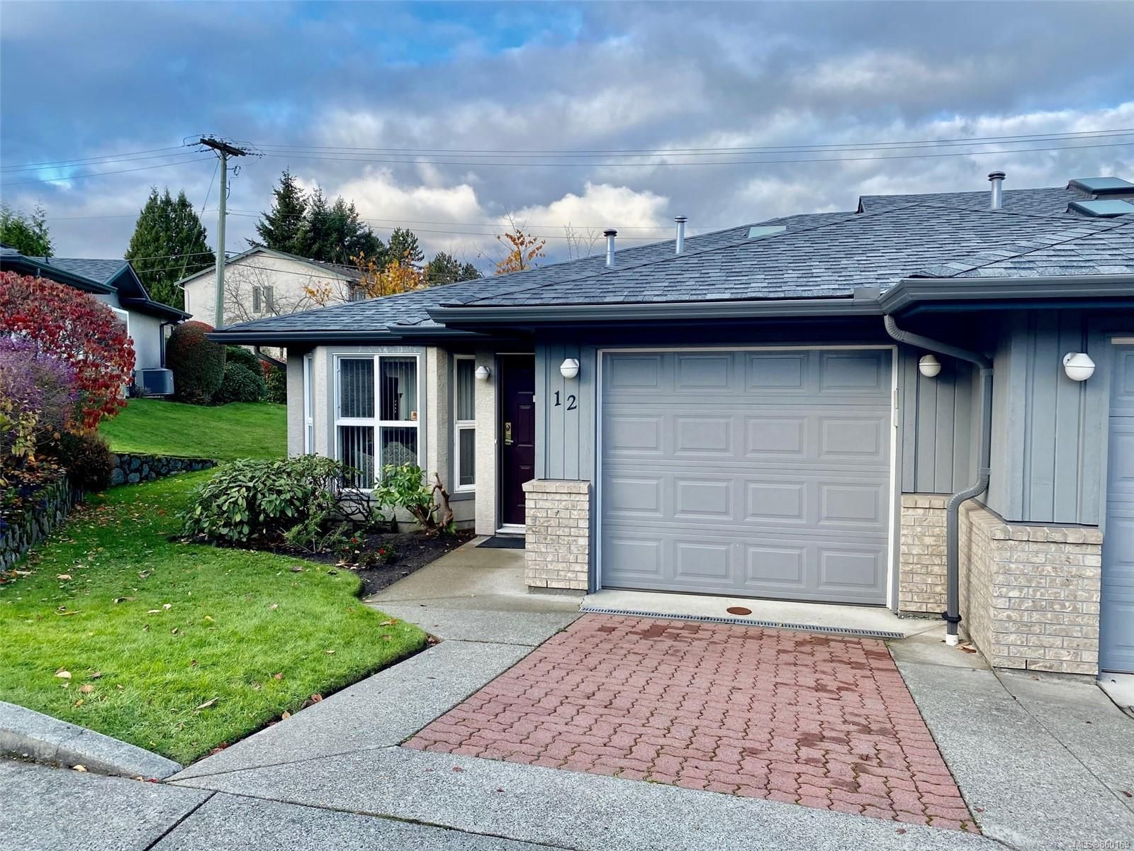 Main Photo: 12 1473 Garnet Rd in : SE Cedar Hill Row/Townhouse for sale (Saanich East)  : MLS®# 860169