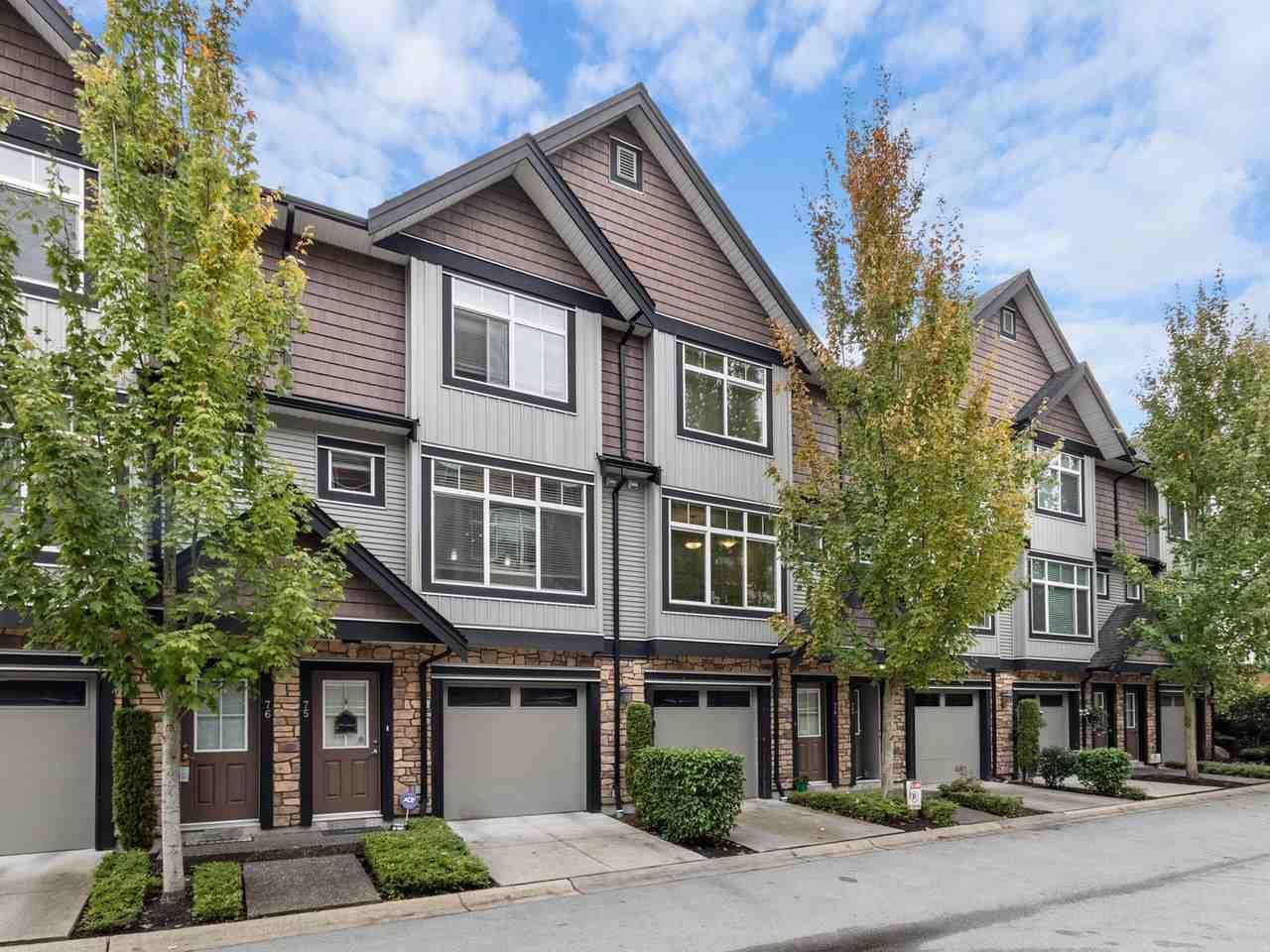 "Main Photo: 74 6299 144 Street in Surrey: Sullivan Station Townhouse for sale in ""ALTURA"" : MLS®# R2518247"