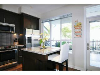 "Photo 3: 102 1480 SOUTHVIEW Street in Coquitlam: Burke Mountain Townhouse for sale in ""CEDAR CREEK NORTH"" : MLS®# V1088331"
