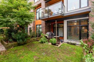"""Photo 18: 108 262 SALTER Street in New Westminster: Queensborough Condo for sale in """"Portage at Port Royal"""" : MLS®# R2509481"""