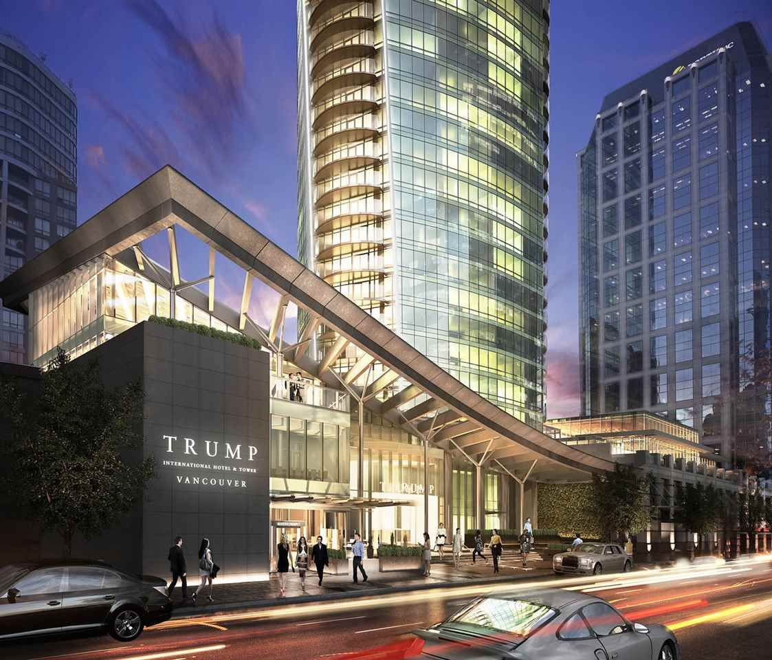 """Photo 1: Photos: 3501 1151 W GEORGIA Street in Vancouver: Coal Harbour Condo for sale in """"Trump International Hotel and Tower"""" (Vancouver West)  : MLS®# R2140743"""