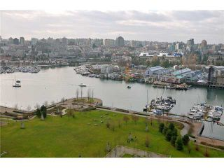 "Photo 9: 2002 583 BEACH Crescent in Vancouver: Yaletown Condo for sale in ""PARKWEST II"" (Vancouver West)  : MLS®# V928427"