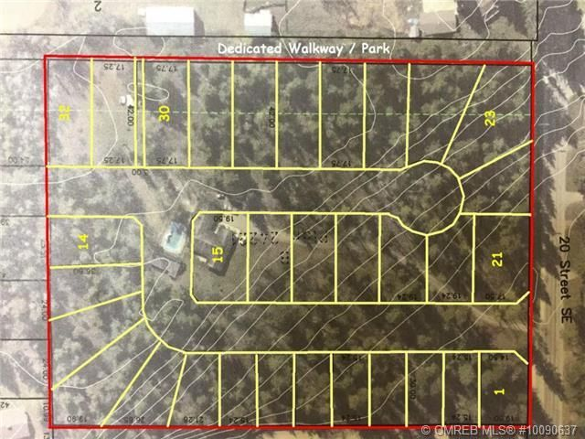 Main Photo: 1400 Southeast 20 Street in Salmon Arm: Hillcrest Vacant Land for sale (SE Salmon Arm)  : MLS®# 10112895
