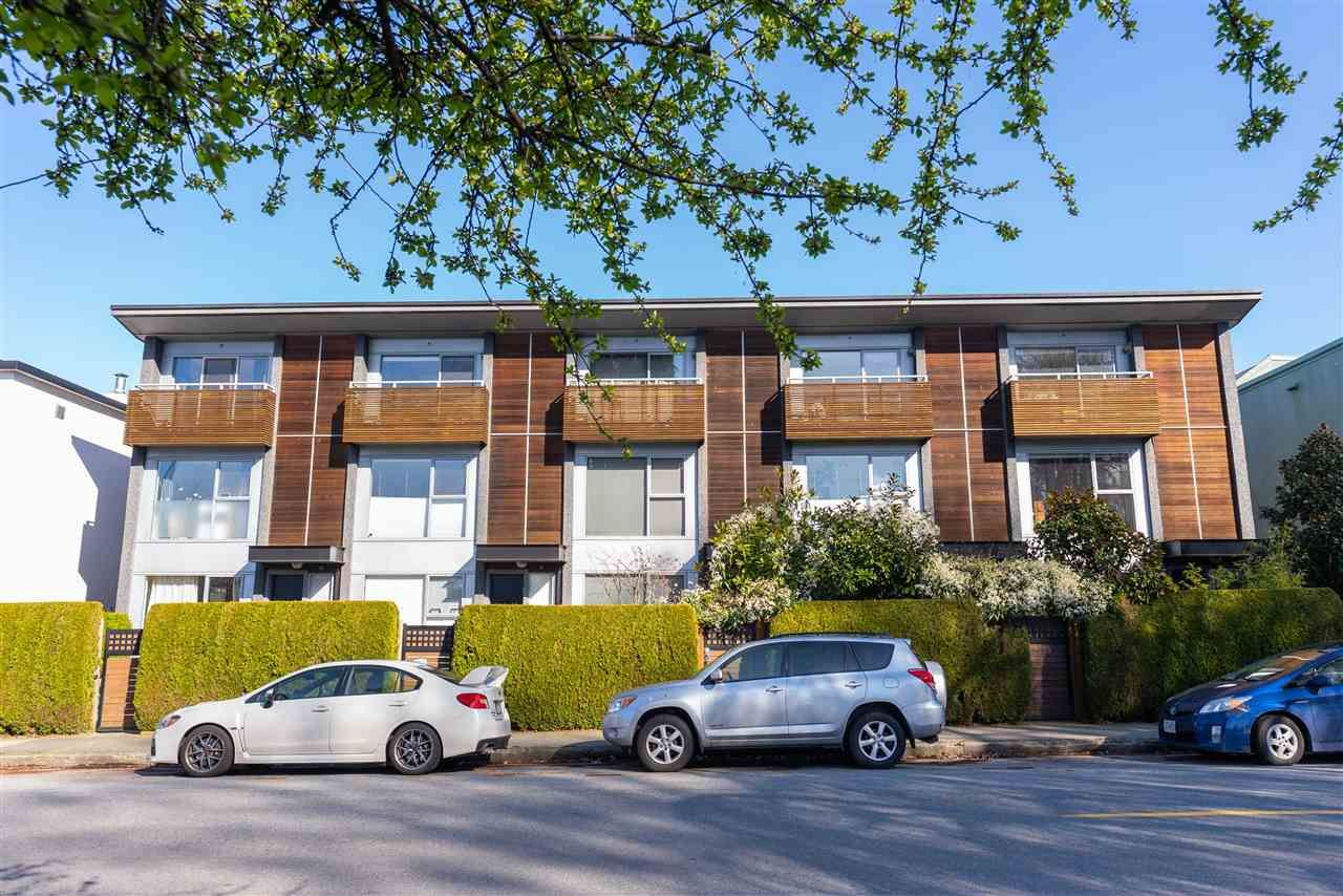 Main Photo: 1470 ARBUTUS STREET in Vancouver: Kitsilano Townhouse for sale (Vancouver West)  : MLS®# R2558773