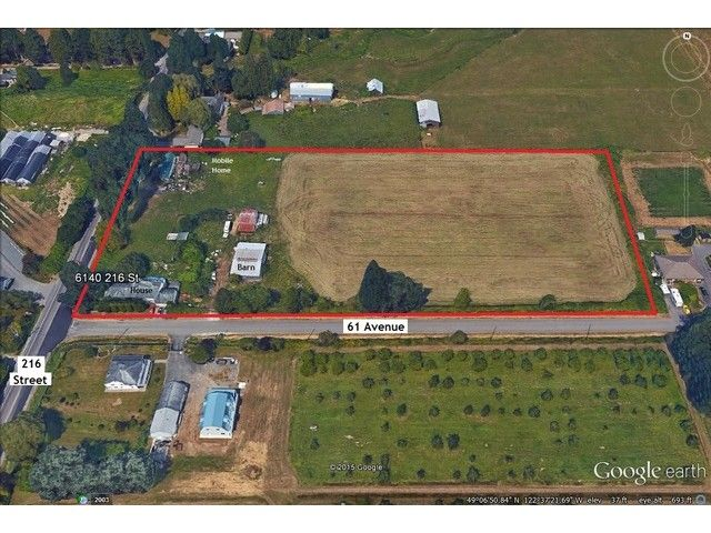 Main Photo: 6140 216TH ST in Langley: Salmon River Land for sale : MLS®# F1442362