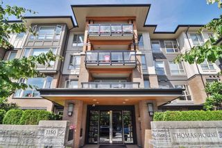 Photo 1: 307 1150 KENSAL Place in Coquitlam: New Horizons Condo for sale : MLS®# R2226865