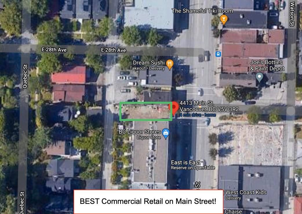 Main Photo: 4413 MAIN Street in Vancouver: Main Land Commercial for sale (Vancouver East)  : MLS®# C8039784