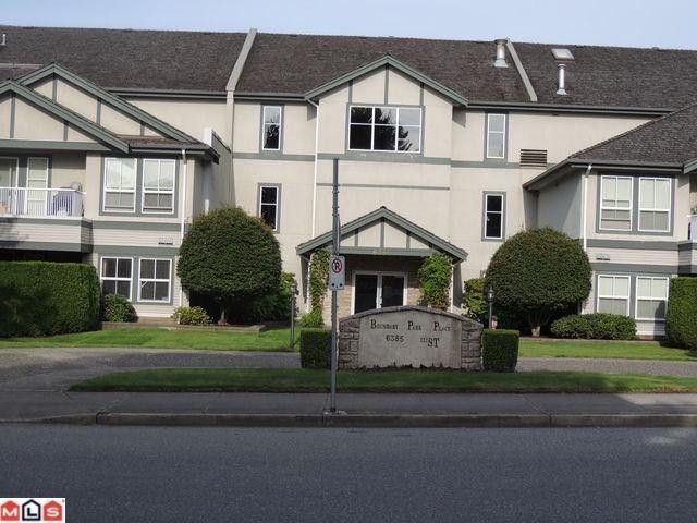"Main Photo: # 309 6385 121ST ST in Surrey: Panorama Ridge Condo for sale in ""BOUNDARY PARK PLACE"" : MLS®# F1219760"