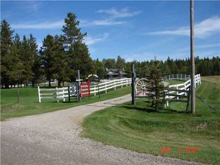 Photo 5: 25 MIN NW OF COCHRANE in COCHRANE: Rural Rocky View MD Residential Detached Single Family for sale : MLS®# C3474326