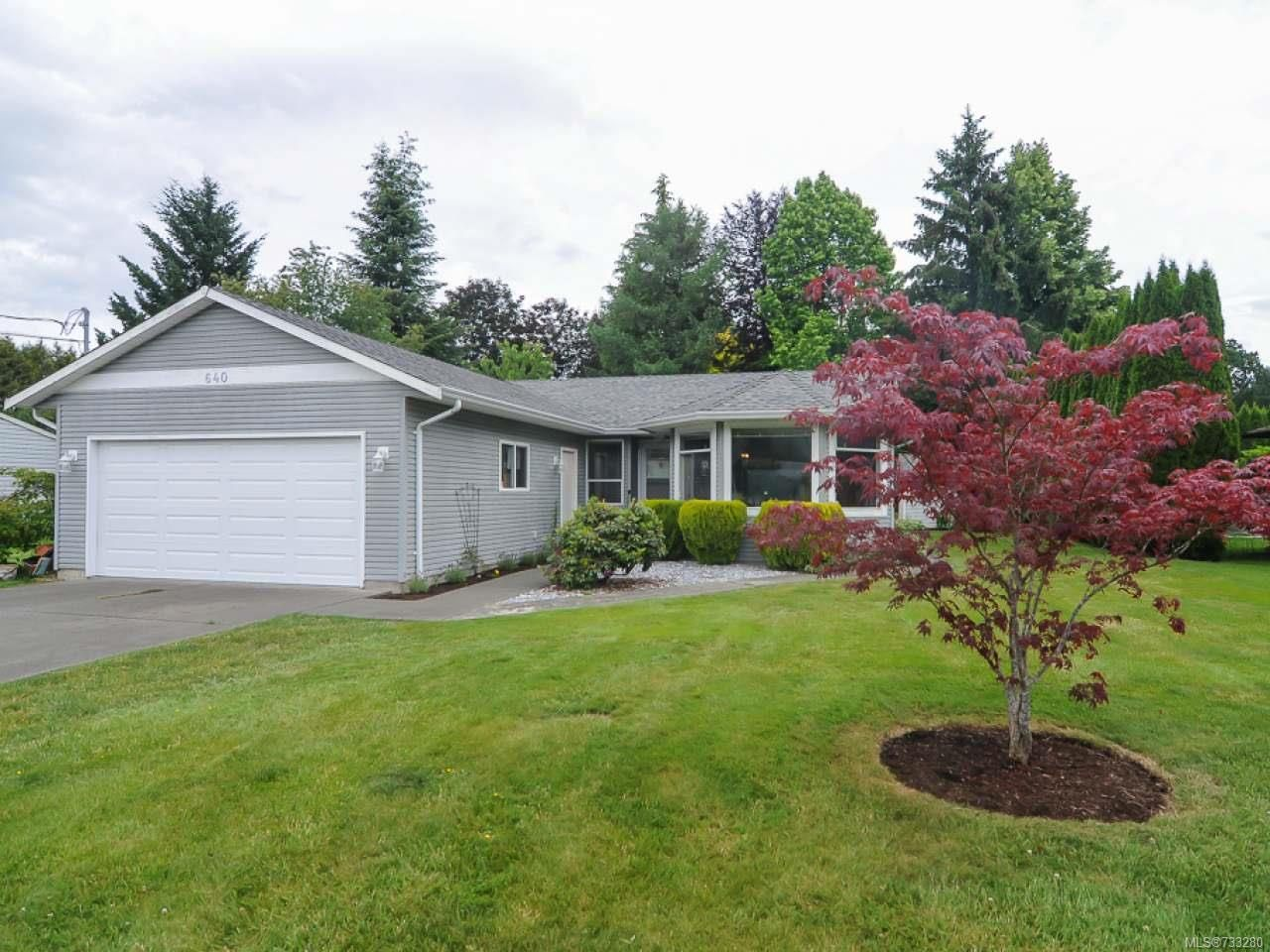 Main Photo: 640 Williams Rd in COURTENAY: CV Courtenay East House for sale (Comox Valley)  : MLS®# 733280