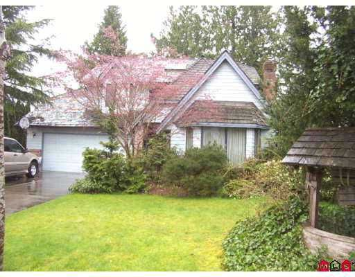 Main Photo: 9834 157TH ST in Surrey: Guildford House for sale (North Surrey)  : MLS®# F2609621