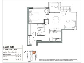 """Photo 9: # 2108 928 BEATTY ST in Vancouver: Downtown VW Condo for sale in """"MAX I"""" (Vancouver West)  : MLS®# V853384"""