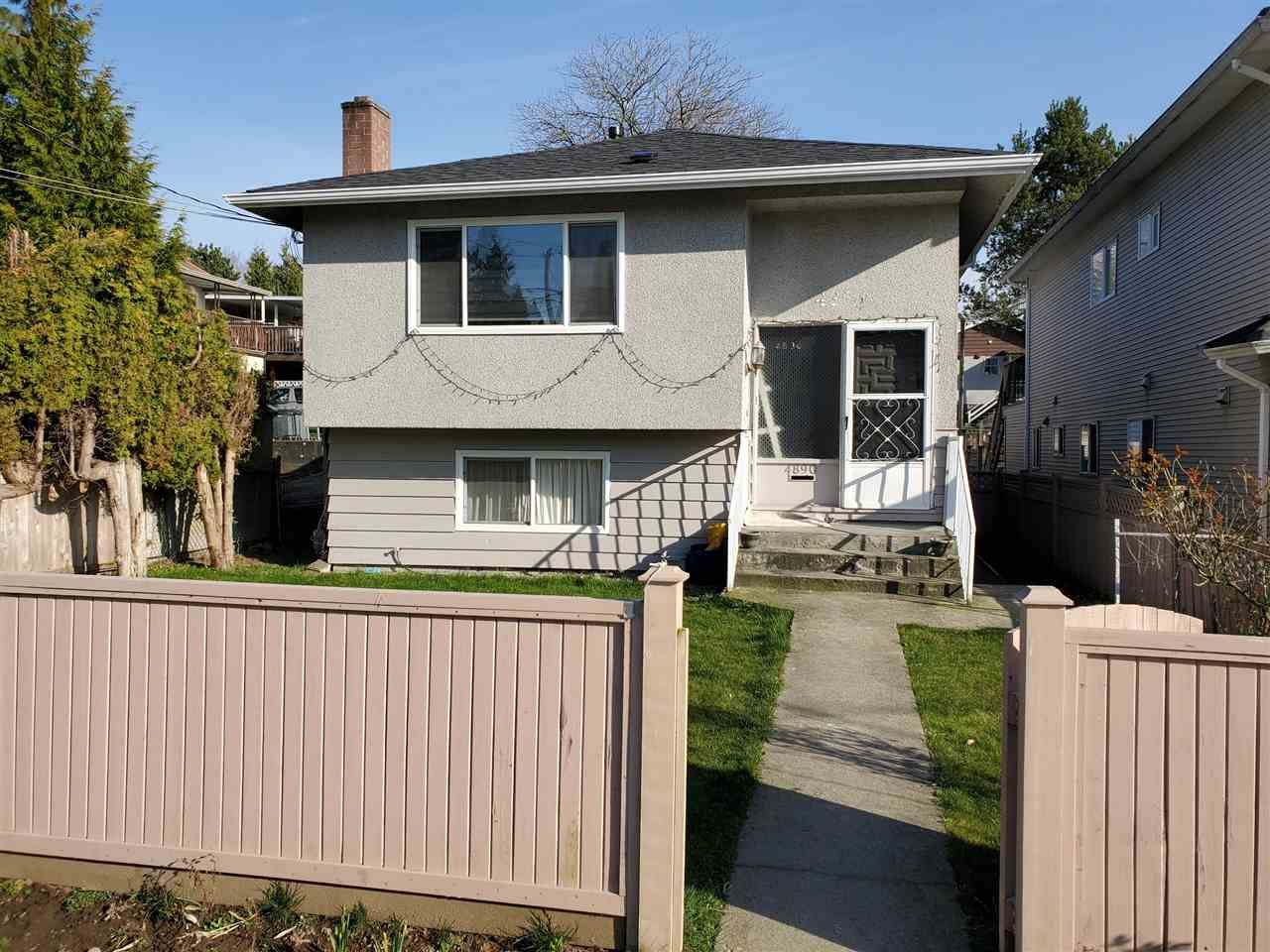 Main Photo: 4890 RUPERT Street in Vancouver: Collingwood VE House for sale (Vancouver East)  : MLS®# R2552133