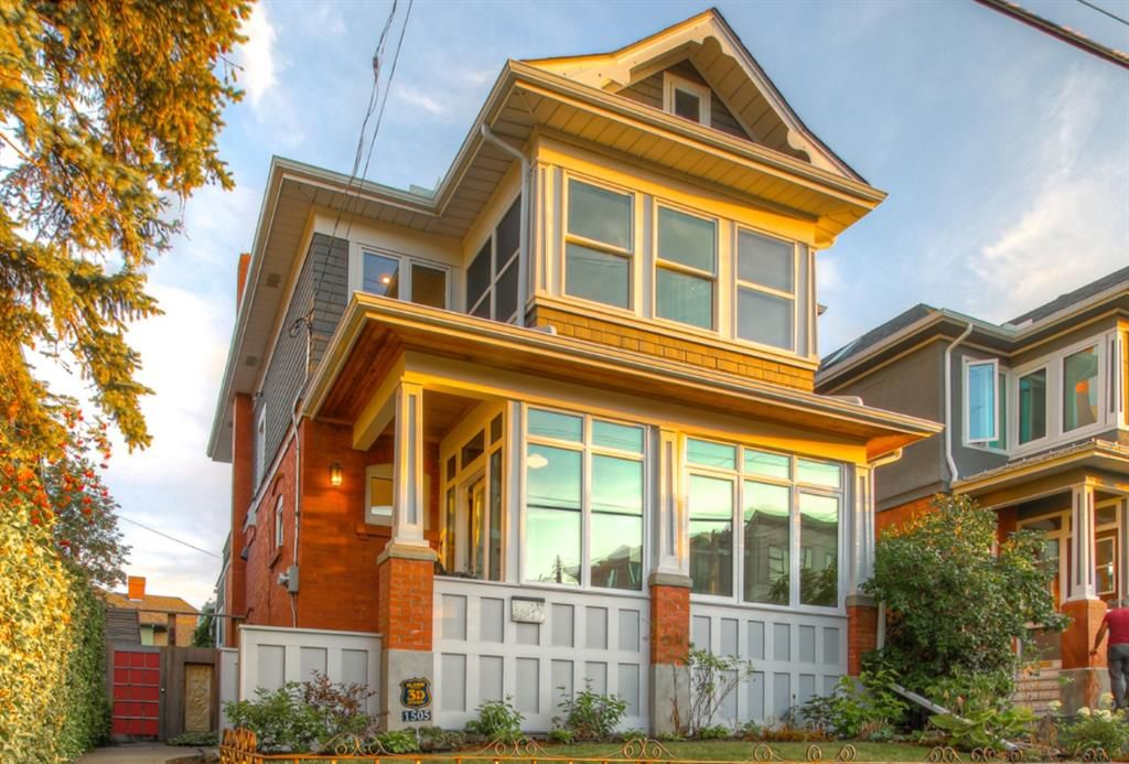 Welcome home to 1505 25th Avenue SW. You will fall in love with this beautifully modern heritage home located in Bankview.