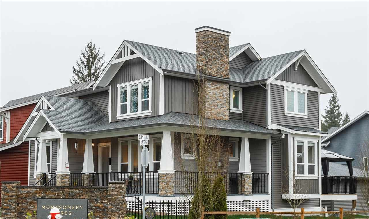 """Main Photo: 24395 112 Avenue in Maple Ridge: Cottonwood MR House for sale in """"MONTGOMERY ACRES"""" : MLS®# R2045655"""