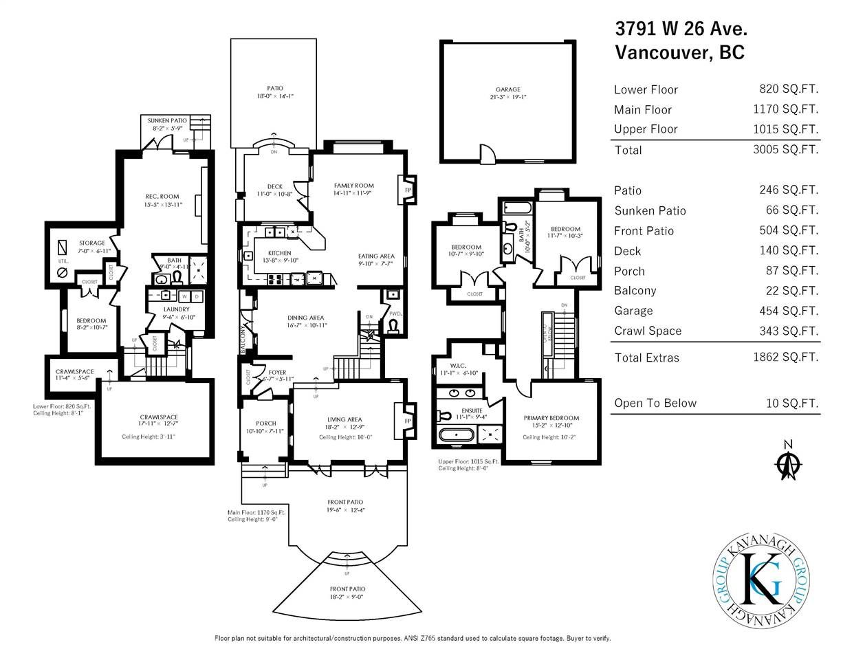 Photo 30: Photos: 3791 W 26TH Avenue in Vancouver: Dunbar House for sale (Vancouver West)  : MLS®# R2571689