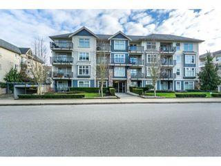 """Photo 1: 407 8084 120A Street in Langley: Queen Mary Park Surrey Condo for sale in """"Eclipse"""" (Surrey)  : MLS®# R2333868"""