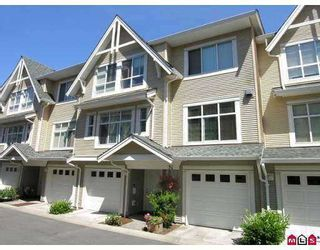 "Photo 1: 49 6450 199TH ST in Langley: Willoughby Heights Townhouse for sale in ""LOGAN'S LANDING"" : MLS®# F2616663"