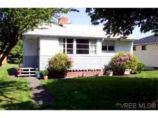 Photo 1: 1618 Edgeware Rd in VICTORIA: Vi Oaklands House for sale (Victoria)  : MLS®# 313040