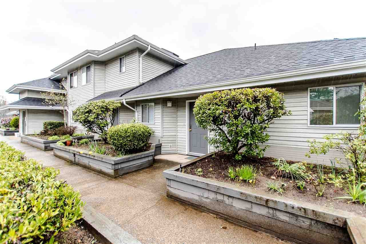 """Main Photo: 20 13640 84 Avenue in Surrey: Bear Creek Green Timbers Condo for sale in """"Trails at Bearcreek"""" : MLS®# R2258365"""