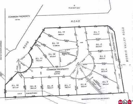 """Main Photo: LOT.11 14505 MORRIS VALLEY RD in Mission: Lake Errock Land for sale in """"Harrison Lane"""" : MLS®# F2609136"""