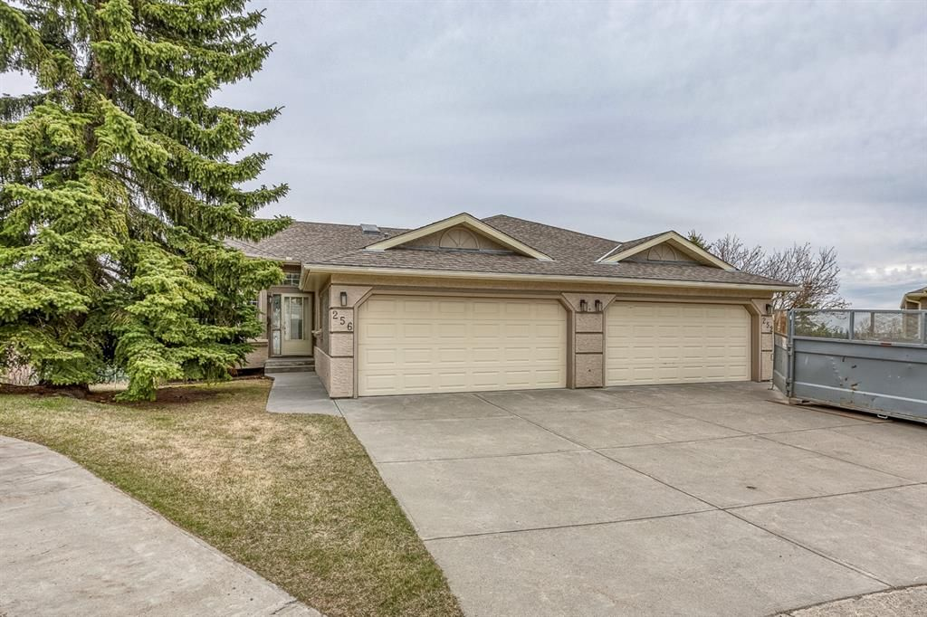 Main Photo: 256 Silvercreek Mews NW in Calgary: Silver Springs Semi Detached for sale : MLS®# A1105174