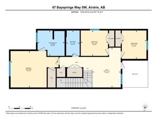 Photo 37: 67 Baysprings Way SW: Airdrie Semi Detached for sale : MLS®# A1131608