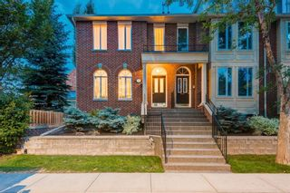 Main Photo: 2306 Erlton Place SW in Calgary: Erlton Row/Townhouse for sale : MLS®# A1112200