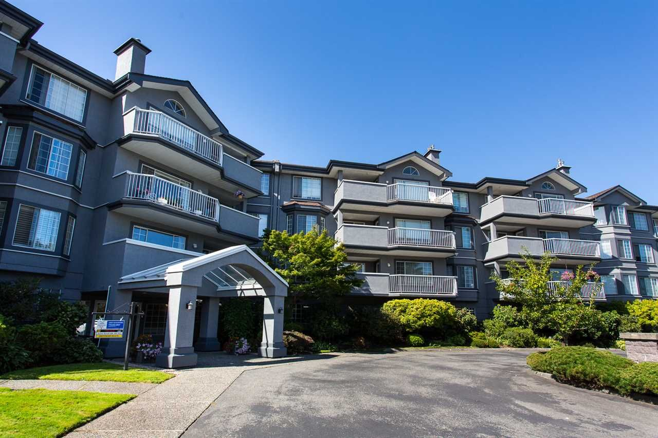 "Main Photo: 114 5375 205 Street in Langley: Langley City Condo for sale in ""Glenmont Park"" : MLS®# R2461210"