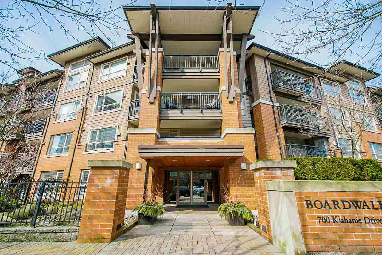 Main Photo: 216 700 KLAHANIE DRIVE in Port Moody: Port Moody Centre Condo for sale : MLS®# R2453265