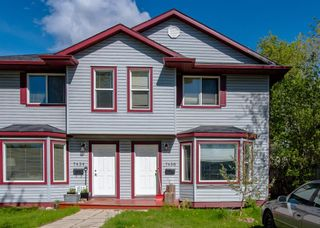 Main Photo: 7436 20 Street SE in Calgary: Ogden Semi Detached for sale : MLS®# A1115538