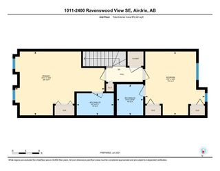 Photo 26: 1011 2400 Ravenswood View SE: Airdrie Row/Townhouse for sale : MLS®# A1121287
