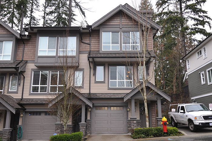 "Main Photo: 142 1460 SOUTHVIEW Street in Coquitlam: Burke Mountain Townhouse for sale in ""CEDAR CREEK"" : MLS®# R2147248"