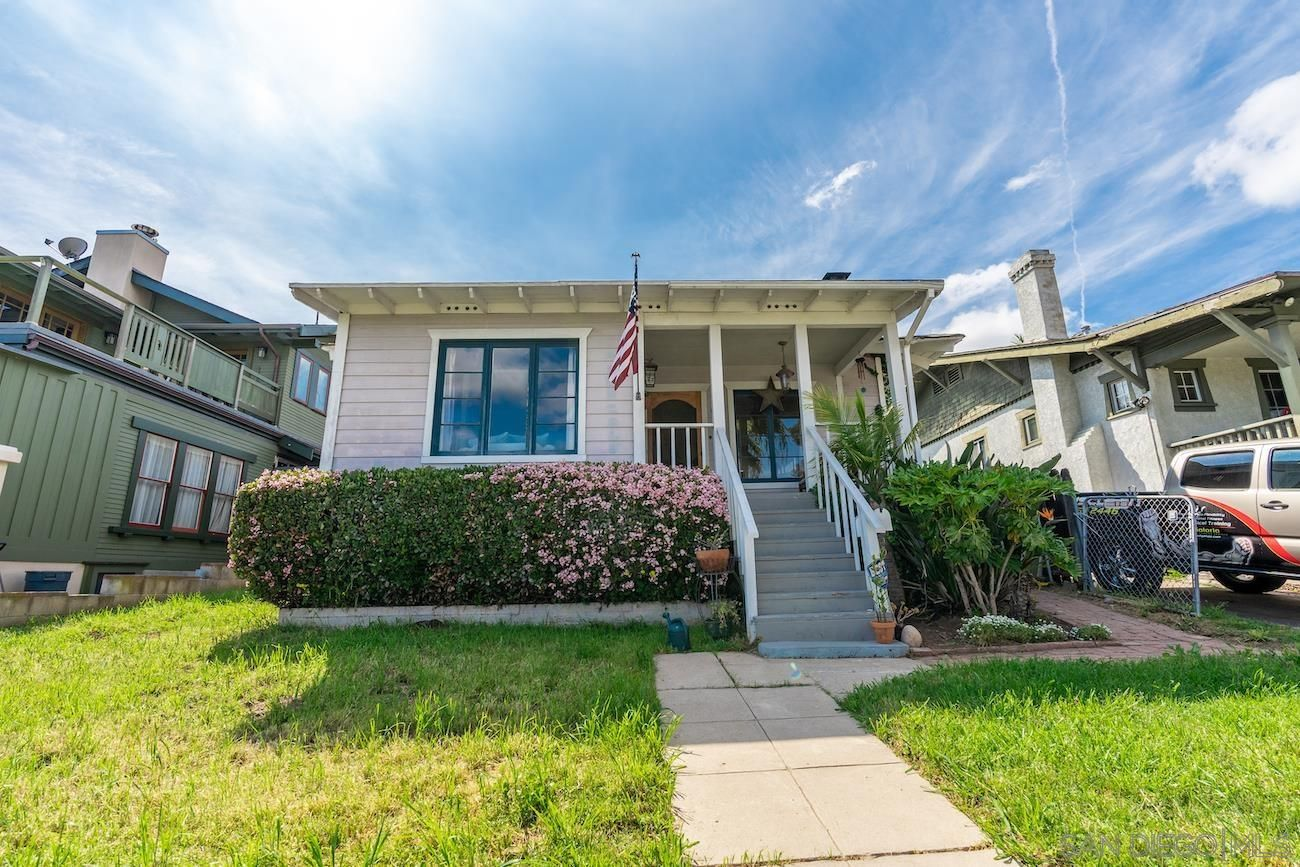 Main Photo: SAN DIEGO House for sale : 3 bedrooms : 1914 Bancroft