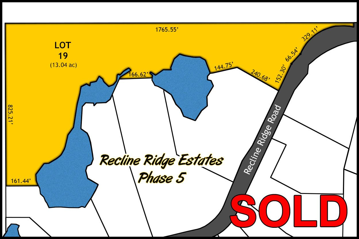 Recline Ridge Phase V - Lot 19