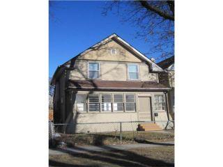 Photo 1: 661 TORONTO Street in WINNIPEG: West End / Wolseley Residential for sale (West Winnipeg)  : MLS®# 1006233