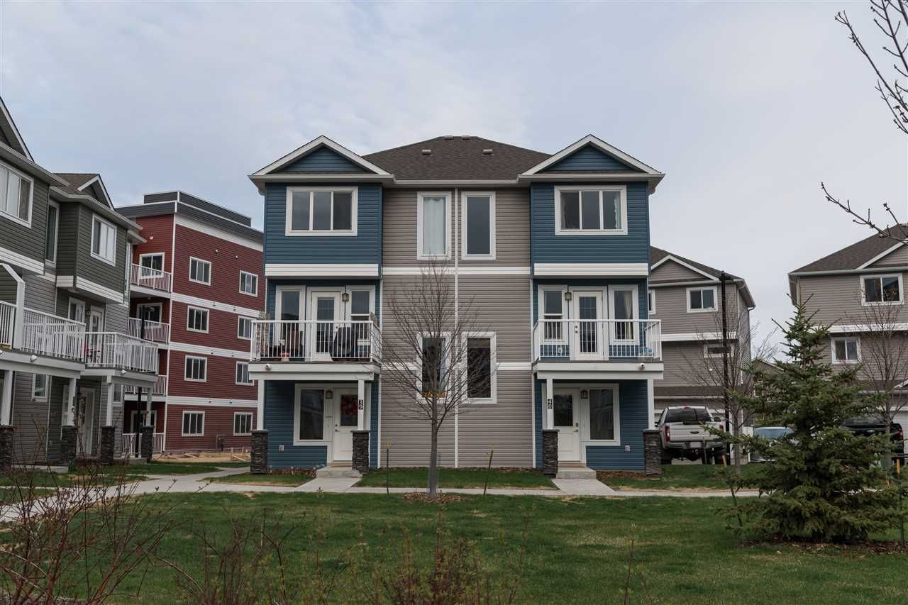 Main Photo: 40 1816 RUTHERFORD Road in Edmonton: Zone 55 Townhouse for sale : MLS®# E4228149