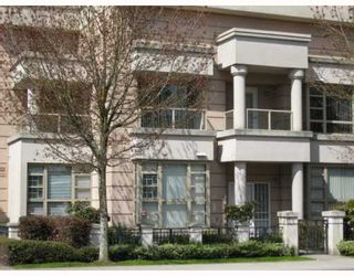 """Photo 1: 1 6119 COONEY Road in Richmond: Brighouse Townhouse for sale in """"ROSARIO GARDEN"""" : MLS®# V763268"""